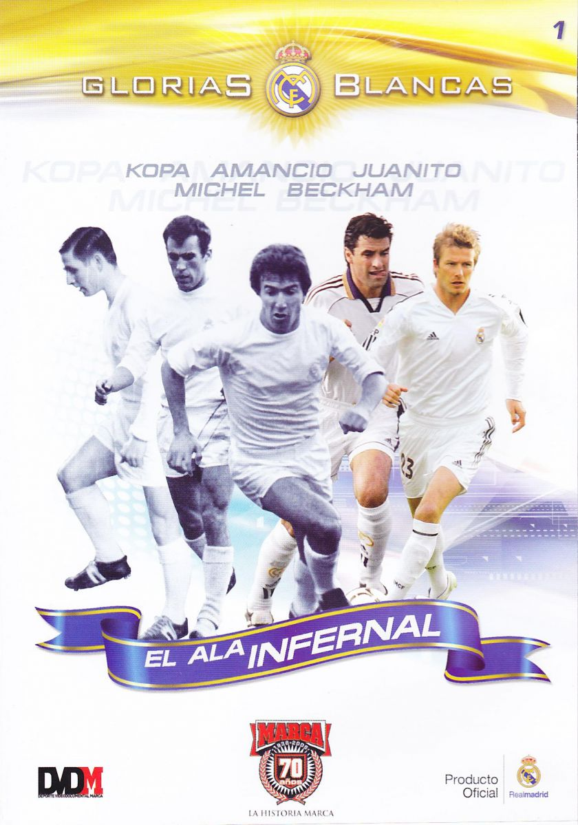 DVD Glorias Blancas (Real Madrid)