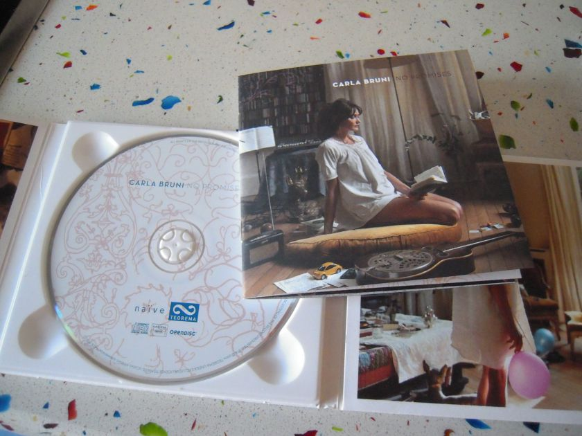 CD No Promises Carla Bruni